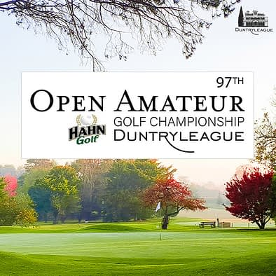 hahn duntryleague open amateur golf tournament